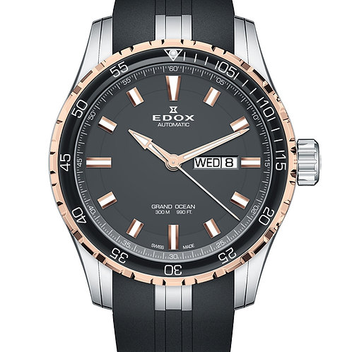 Edox Automatic Grand Ocean Day-357RC-NIR front view