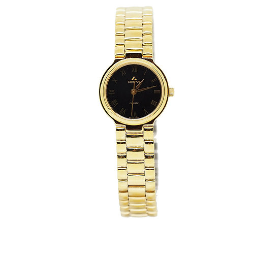 CAMPUS Classic Roman black/gold CA5856 front view