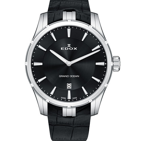 Edox Grand Ocean Quartz ED56002-3C-NIN front view