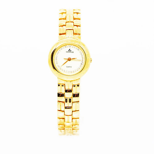 CAMPUS Classic Crystal Off-white/gold CA5869-WS front view