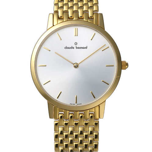 Claude Bernard Classic Silver|Gold|Gold/Silver CB20206-37JM-AID front view