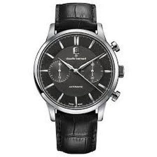 Claude Bernard Classic Chronograph Automatic Black|Silver|Black CB08001-3-NIN