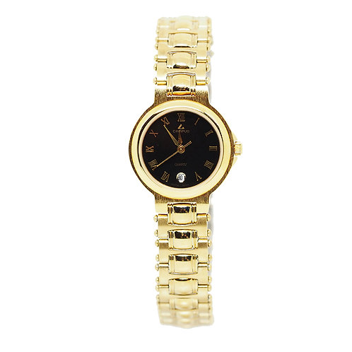 CAMPUS Classic Roman with date black/gold