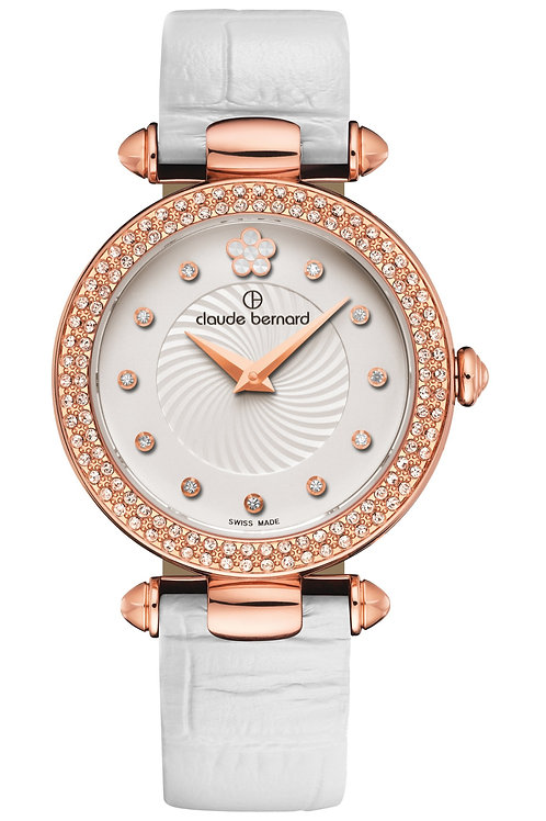 Claude Bernard Dress Code Silver|Pink|White CB20504-37RP-APR2