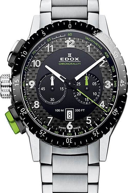 EDOX Chronorally-1 ED103053NVMNV FRONT VIEW