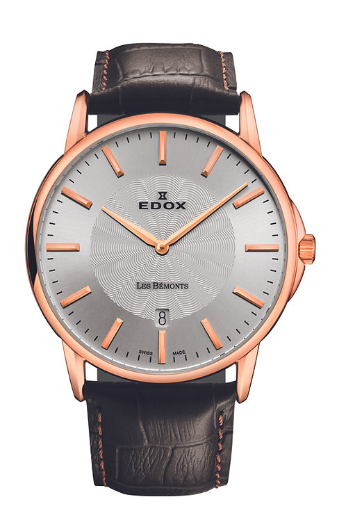 Edox Les Bemont ED56001-37R-AIR front view