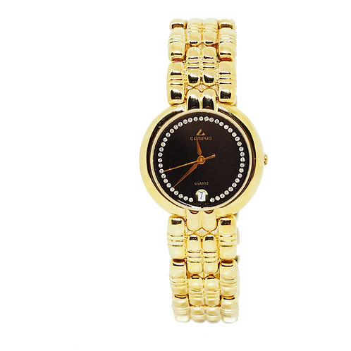 CAMPUS Classic Crystal with date black/gold