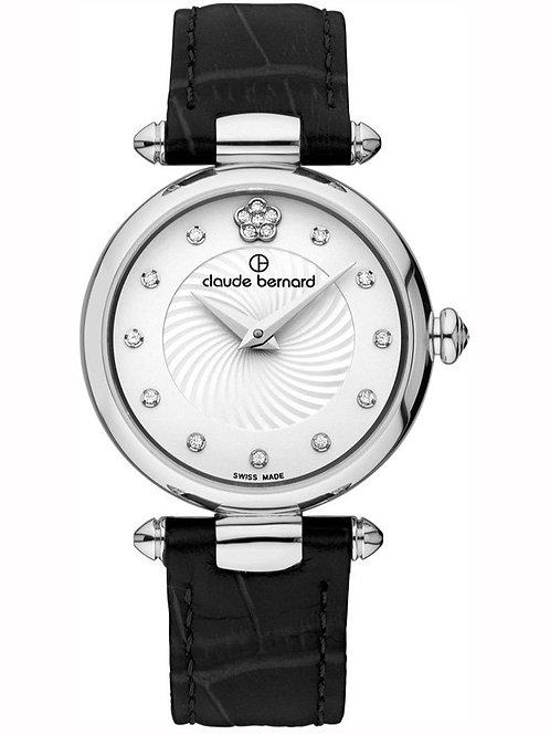 Claude Bernard Dress Code Silver|Silver|Black CB20501-3-APN2