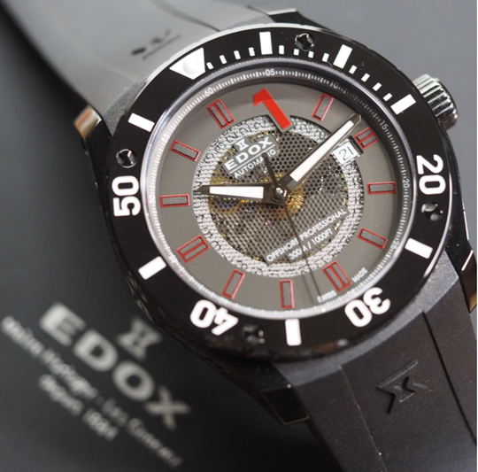 EDOX: CHRONOFFSHORE-1 PROFESSIONAL MESH COLLECTION