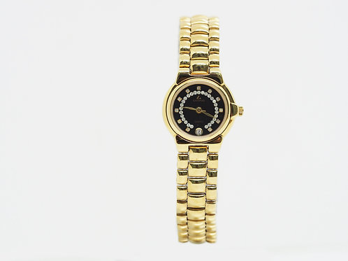 CAMPUS Classic Crystal with date black/gold CA5774P-BKFS front view