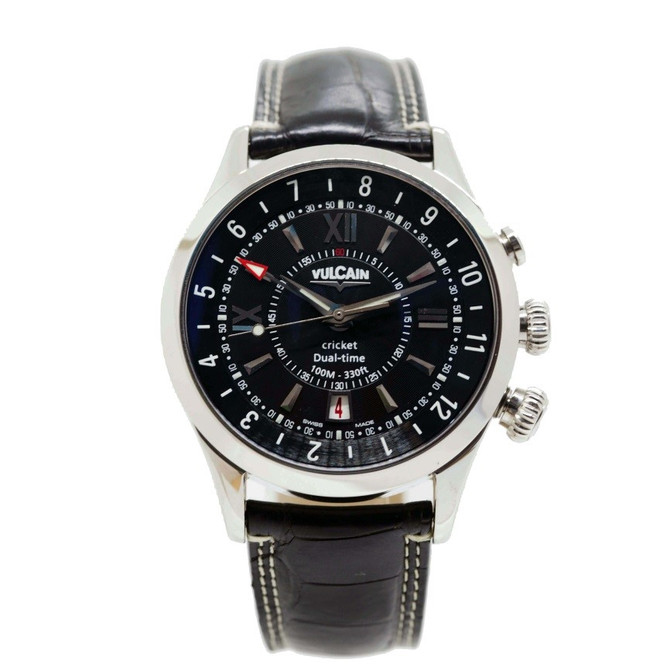 Vulcain: The Ultimate Aviator (Aviator cricket GMT/Dual time collection)