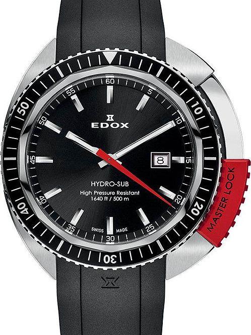 EDOX Hydro-Sub 3-Hands ED532003NRCANIN front view