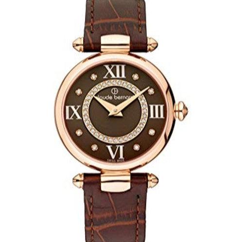 Claude Bernard Dress Code Brown|Pink|Brown CB20501-37R-BRPR1