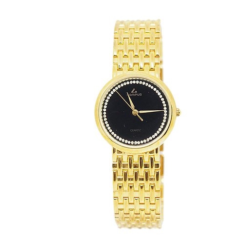CAMPUS Classic Crystal black/gold CA5833 front view