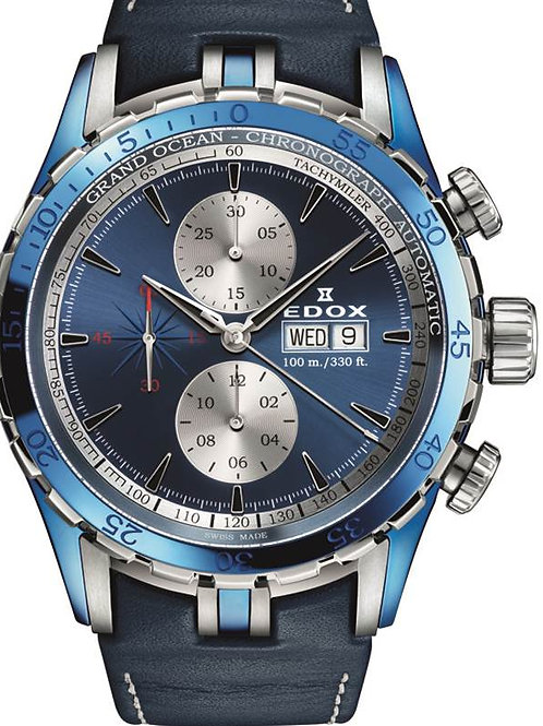 EDOX Grand Ocean Chronograph Automatic ED01121357BBUIN front view