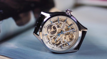 Travel Essential - Arbutus Dual-time Skeleton Watch