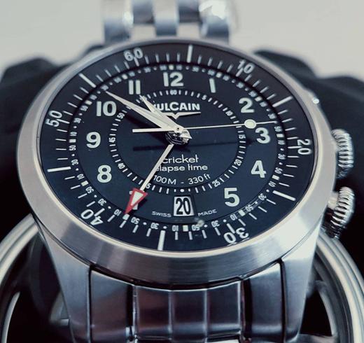Vulcain Elapsed Time- The Aviator watch