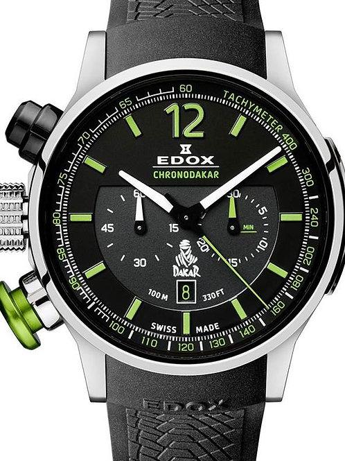 EDOX Chronodakar III ED10303-TIN-NV front view