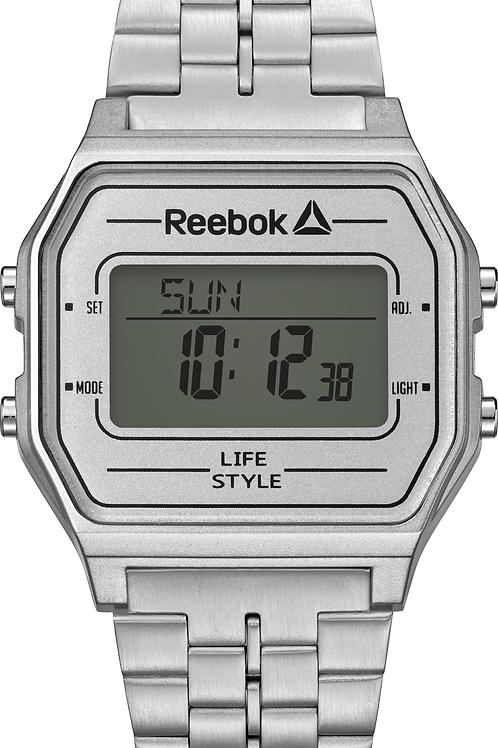 Reebok Nerd  white/stainless steel  RD-VNE-G9-P1S1-W1
