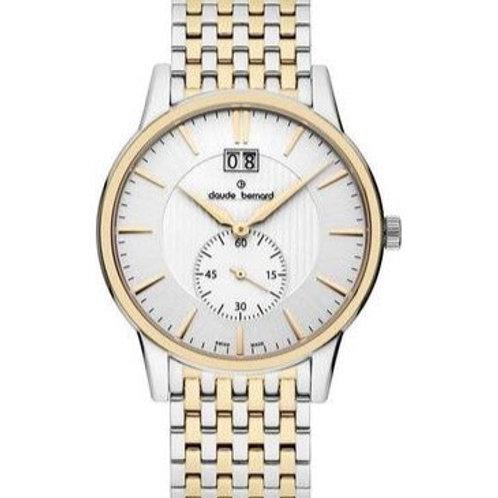 Claude Bernard Classic Small Second WHITE|BICOLOUR|BICOLOUR CB64005-357RM-AIR