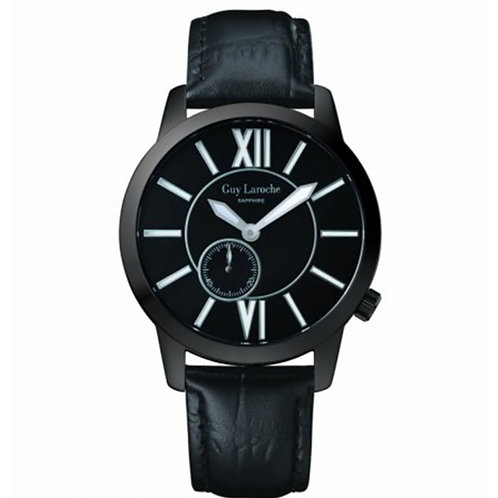 Guy Laroche Gents seconds sub dial black GLL20203 front view