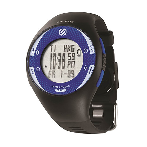 SOLEUS GPS Pulse with Bluetooth SG013040 front view