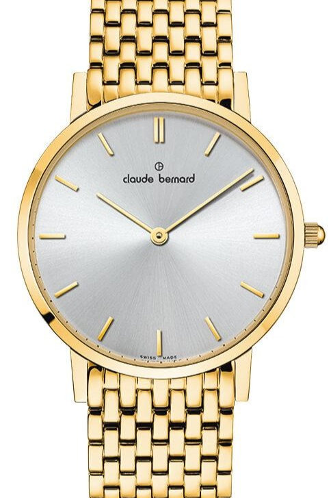 Claude Bernard Classic Silver|Gold|Gold/Silver CB20061-37JM-AID front view