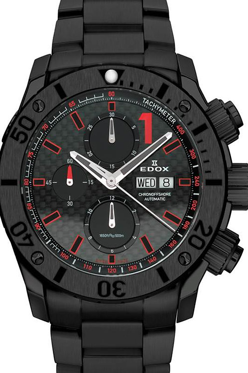 EDOX Chrono-Offshore Automatic ED0111537NNRO front view