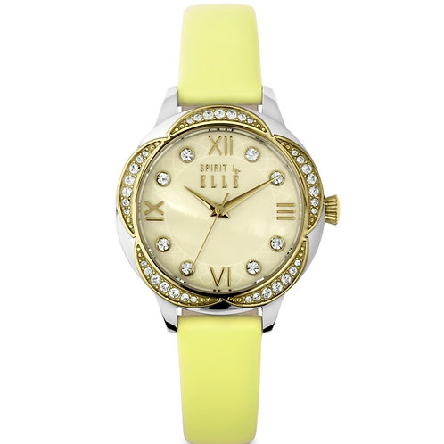 Elle Crystal and yellow strap ES20084S02X