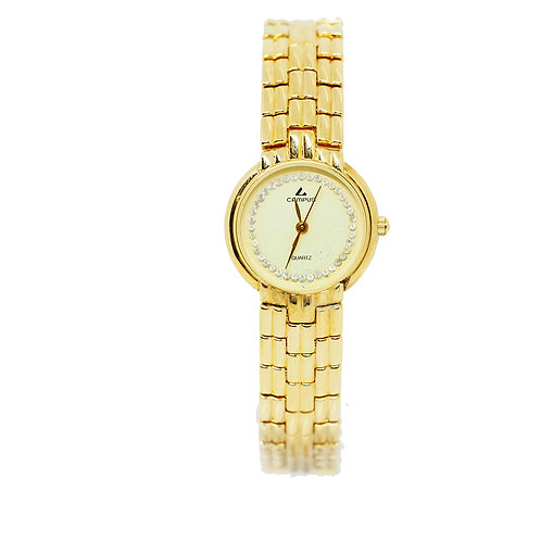 CAMPUS Classic Crystal off white/gold CA5861 front view