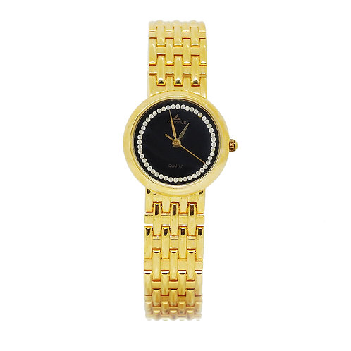 CAMPUS Classic Crystal black/gold CA5834 front view