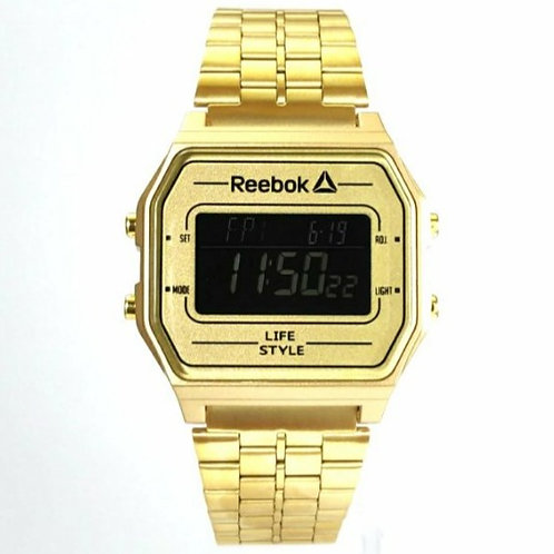 Reebok Nerd  gold/stainless steel  RD-VNE-G9-P2S2-B2 front view