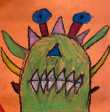 Scary Monster - Honorable Mention