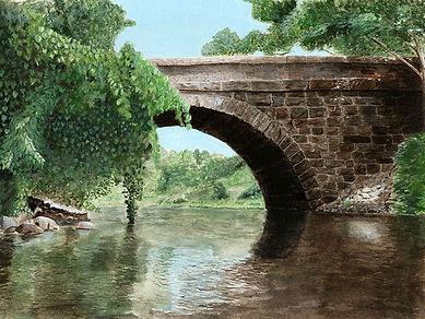 2021_Gilmartin_Mary_North_River_Bridge_W