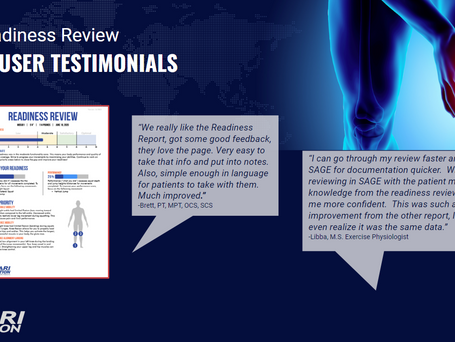 User Testimonials: Readiness Review