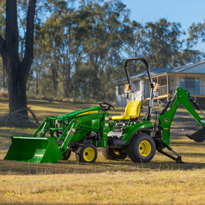 JOHN Deere tractors: quality that's 100 years in the making
