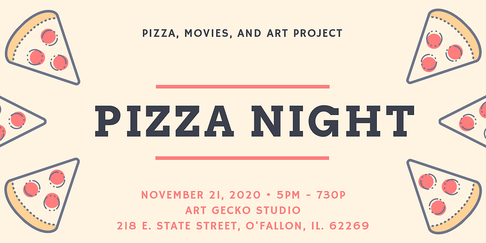 Pizza, Movie, and Art