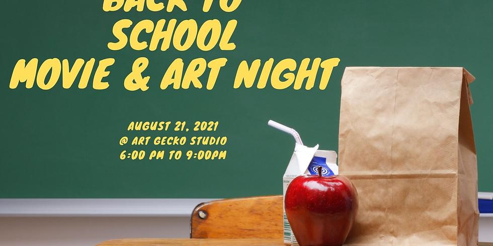 Back To School Movie & Art Night