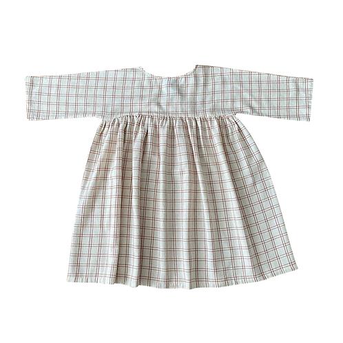 Liilu Dress-Rustic Check