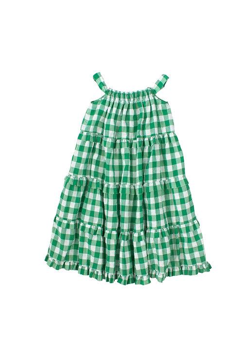 Sidra Green Girls Dress