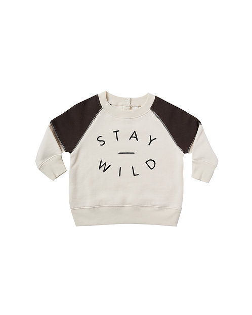 Stay Wild Raglan Sweatshirt & Pants