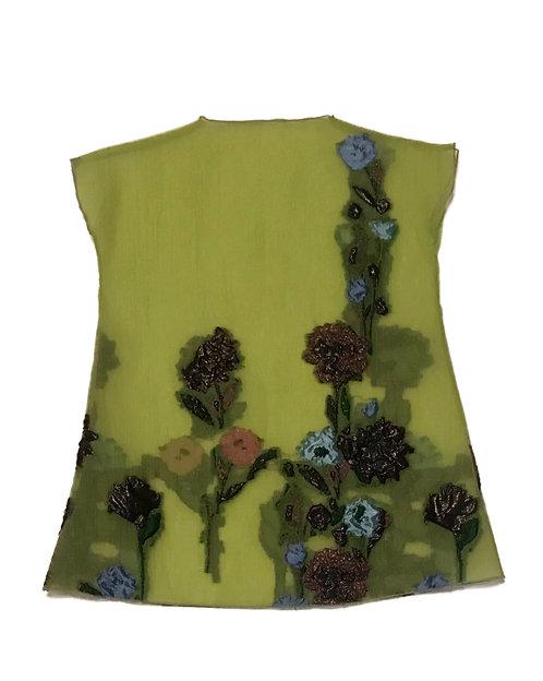 Fern Green Floral Jacquard