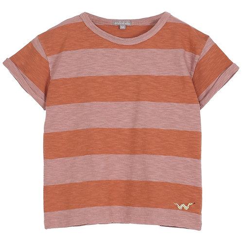 Terre Orange Tee Shirt