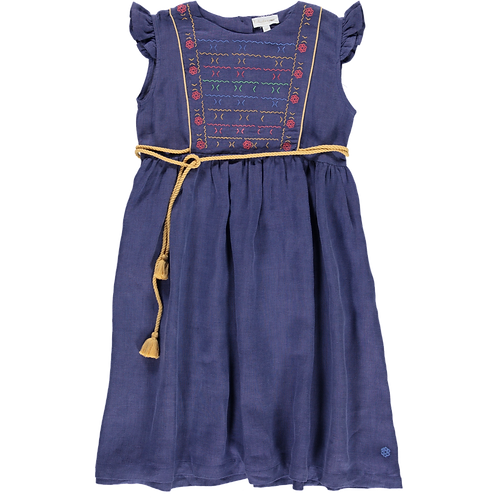 Budapest Dress Blue