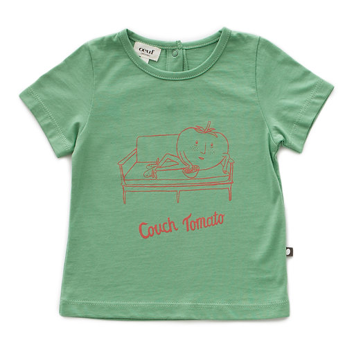 Tee Shirt Couch Tomato