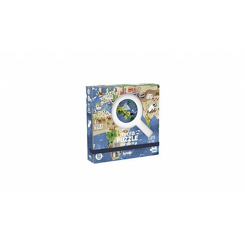 Micro puzzle 600 pcs-World