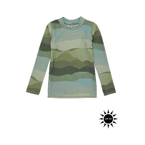 Astin Sun Shirt, AOP Landscape