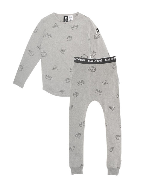 PJ Set Takeout Marle Grey