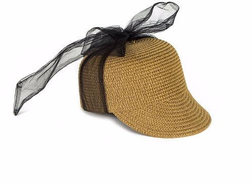 Hat Violeta tulle Straw