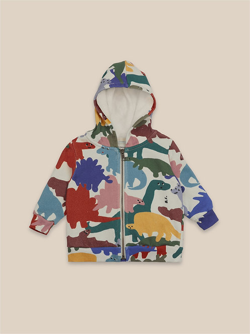 Dinos All Over Hooded Sweatshirt & Jogging Pants